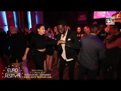 Tamba Salsaché & Irena Social Dancing @ Euro Salsa