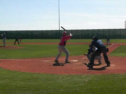 Cincinnati Reds vs. LA Dodgers in Minor League Camp 2010...complete inning