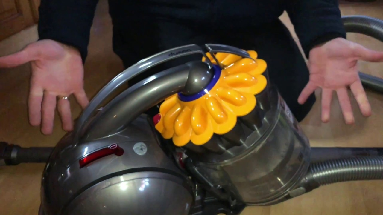 Cleaning the filters on a dyson dyson dc41c origin пылесос