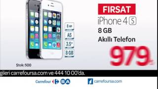 CarrefourSA iPhone 4S 8 GB Reklamı(, 2015-01-03T15:51:11.000Z)