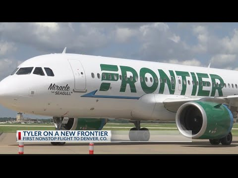 Frontier Offers First Nonstop Flight From Tyler To Denver