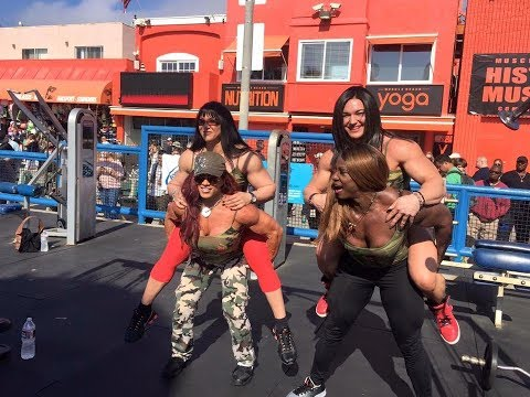 Collection Muscle women! FBB 2017! Female Bodybuilding! Girl Muscles! Crossfit Girls!Female Crossfit