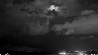 Night time Cloud Formation @ Valletta Grand Harbour