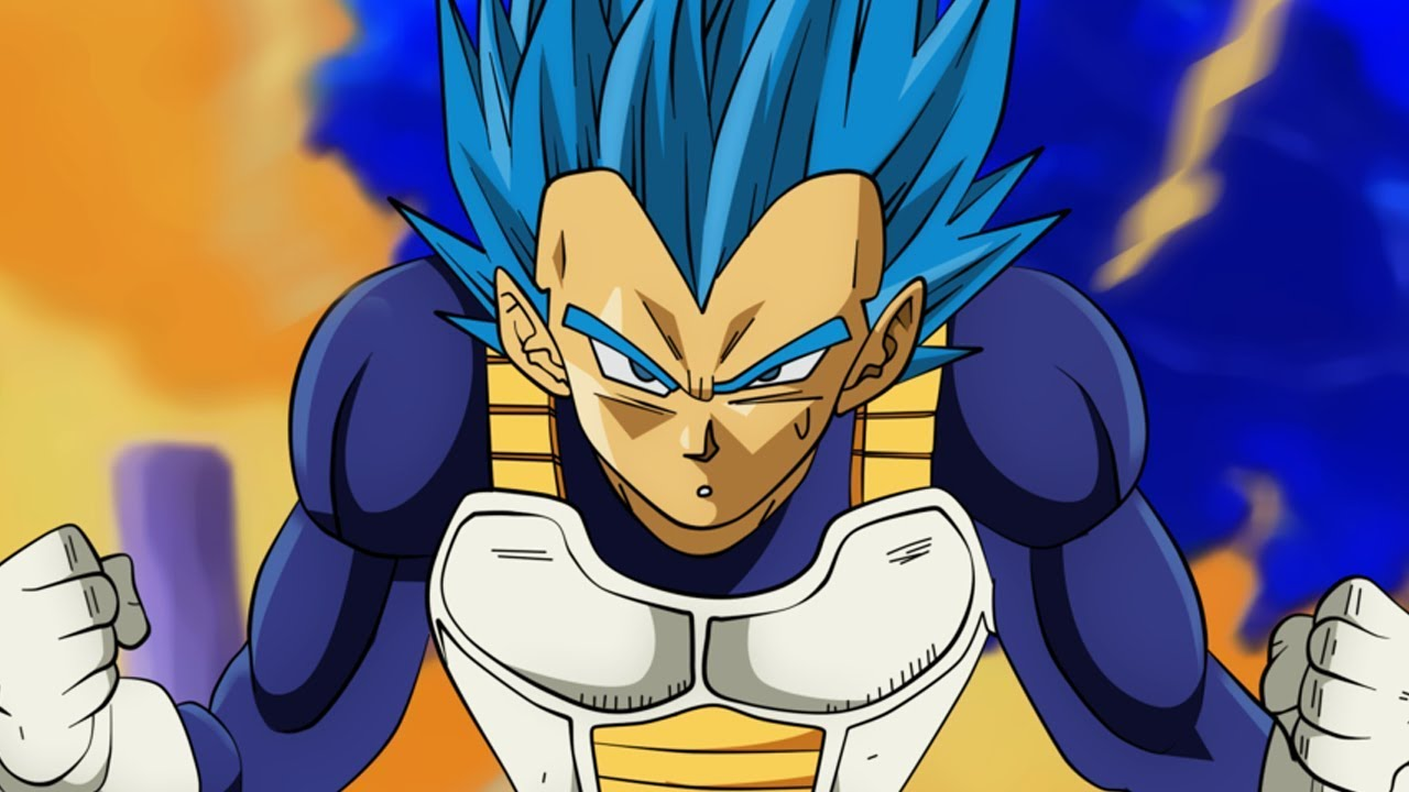 VEGETA BLUE FULL POWER - YouTube