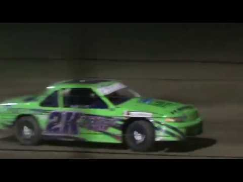 Part 1- Bloomfield Speedway Stock Car A feature 6/4/16