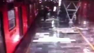 choque de trenes en metro oceana