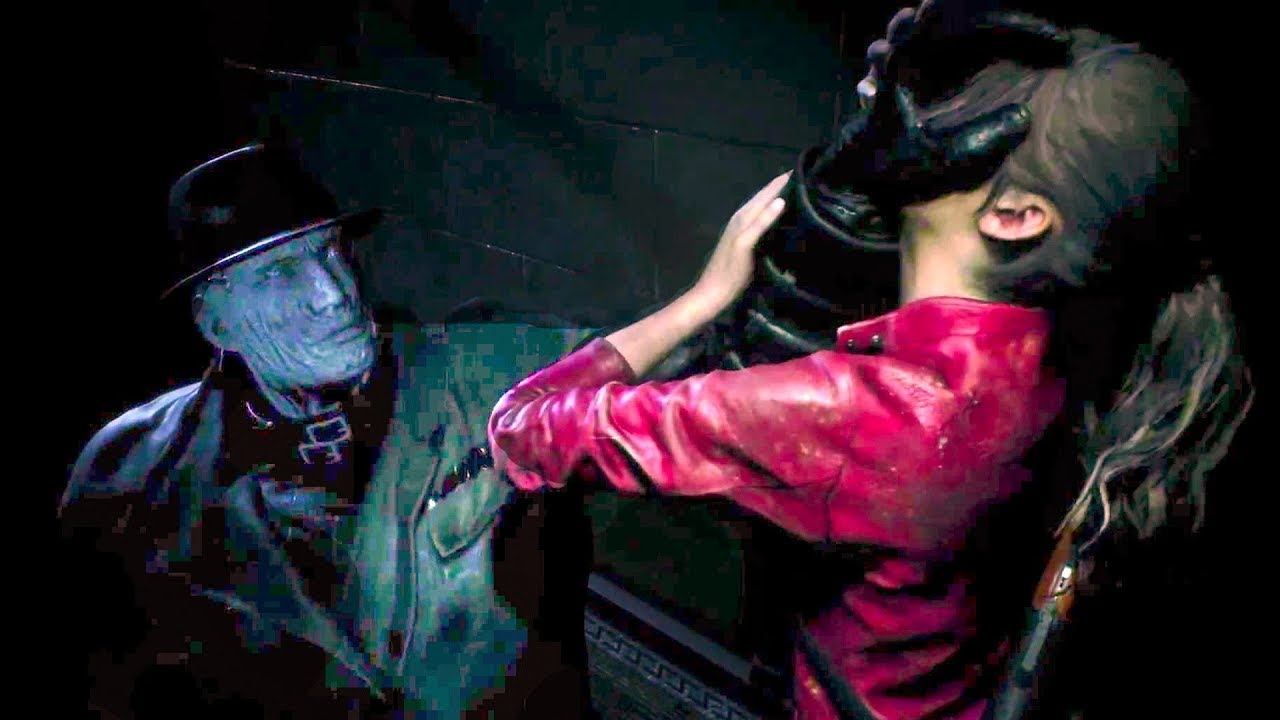 Resident Evil 2 Remake New Gameplay Demo Tyrant 2019