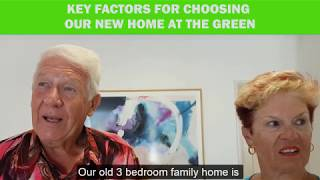 Key factors for choosing our new home at The Green  -  Rod and Barbara