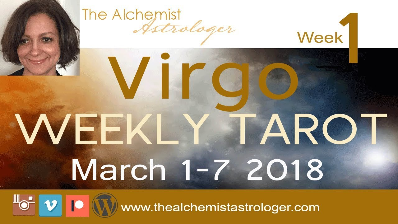 virgo weekly 1 to 7 tarot reading march 2020