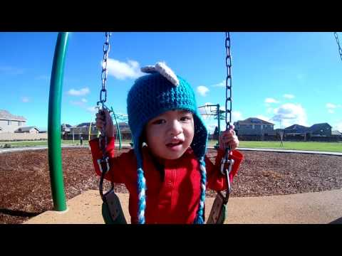 Declan at the Park