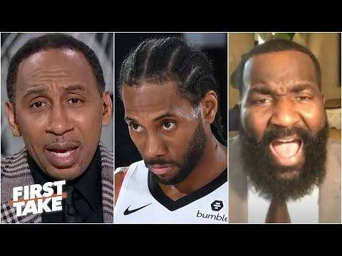 Stephen A. isn't letting Kawhi off the hook | First Take