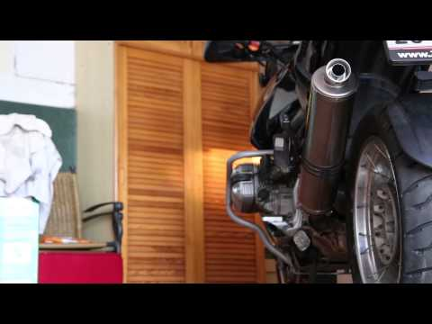Akprapovic Titan - BMW R 1150 GS | Soundcheck with DB Killer