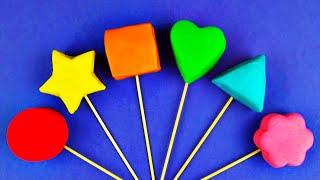 Плей-Doh Торт Поп Яєць З Сюрпризом Вчимо Форми І Кольору Заморожені Тачки 2 Shopkins В Історія Іграшок FluffyJet