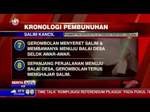 Kronologi Pembunuhan Salim Kancil
