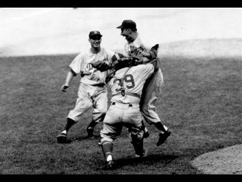 1955 World Series Highlights | Brooklyn Dodgers vs New York Yankees
