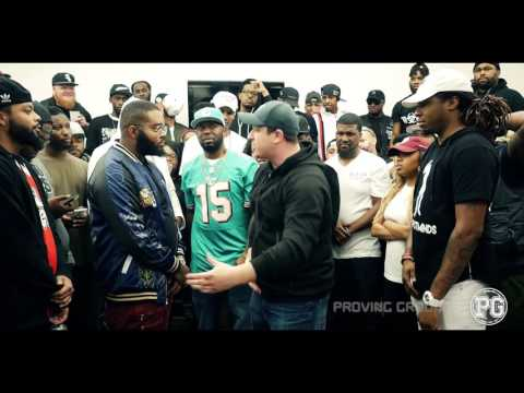 JOE VS HOLMZIE DA GOD SMACK/ URL RAP BATTLE