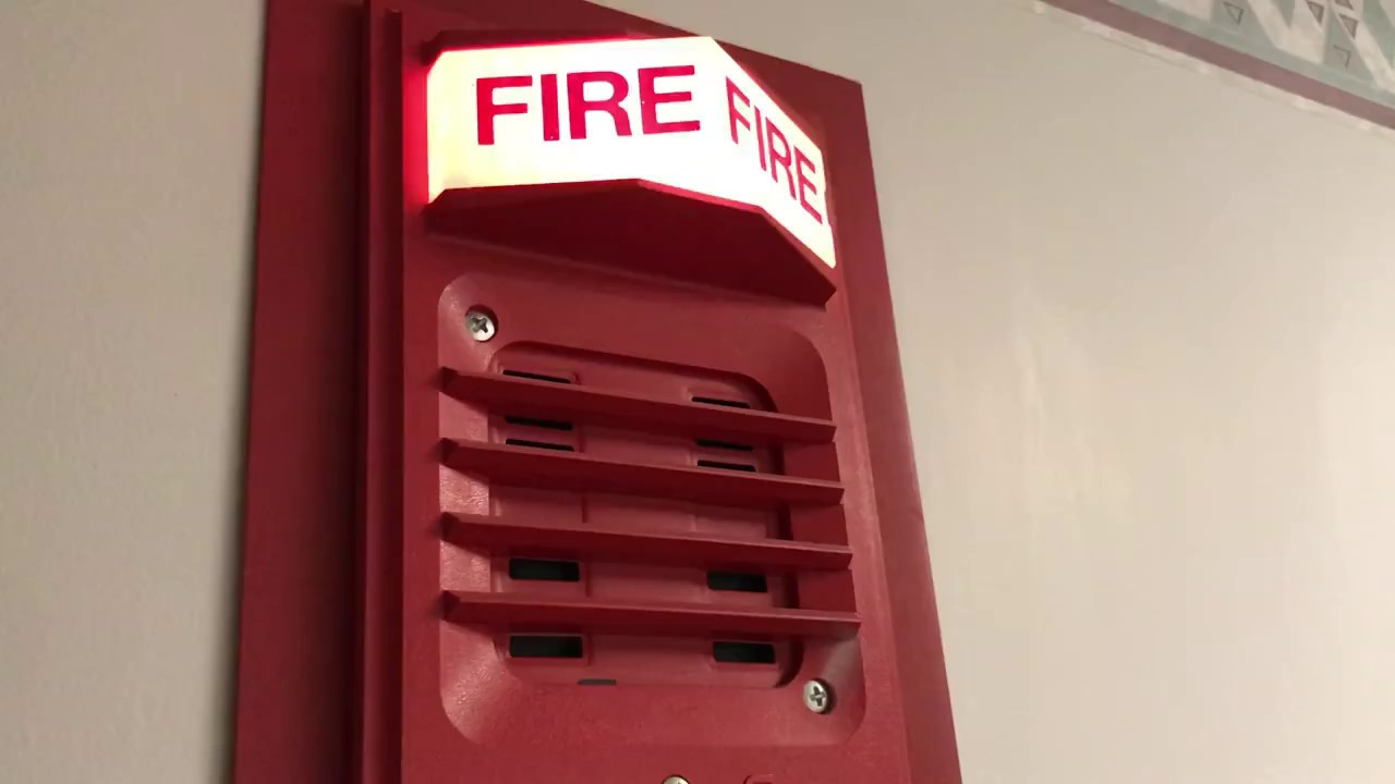 Simplex Fire Alarms At My Apartment