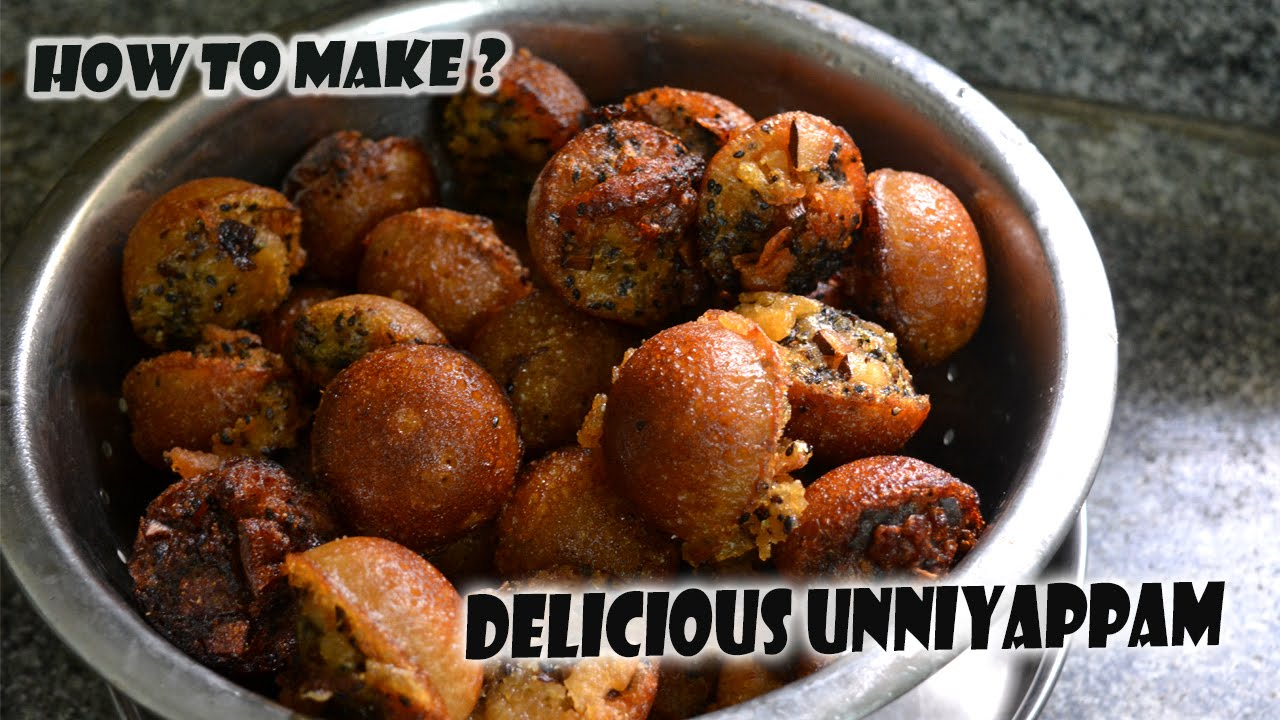 Unniyappum with natural ingredients famous indian food kerala unniyappum with natural ingredients famous indian food kerala recipe forumfinder Image collections