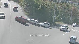 Astakada Находка ДТП Скатился назад 21 сентября 2018 ул  Пограничная