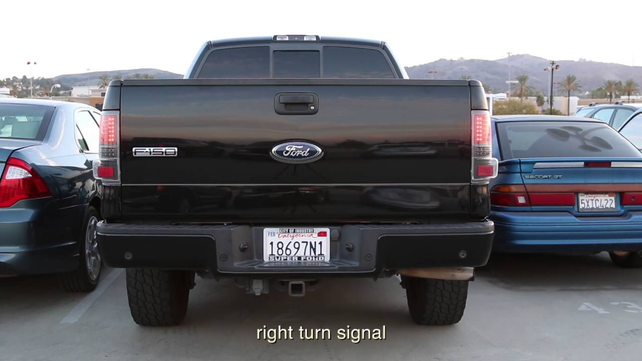 04 08 Ford F150 Styleside Led Tail Lights Installation
