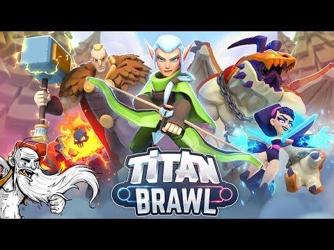 MOBILE MINI MOBA!!! - Let's Play Titan Brawl Gameplay