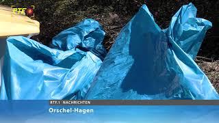 "Müllsammelaktion in Orschel-Hagen: ""Voller Erfolg"""