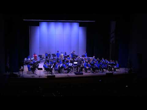 Columbine Middle School 8th Grade Concert Band Final Performance 051620109