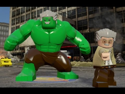 marvel lego stan lee