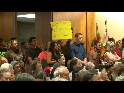 Nearly 150 testify for and against Native Hawaiian government