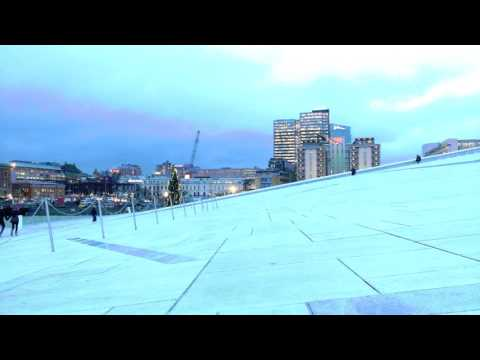 Oslo Opera House CHRISTMAS HOLIDAYS