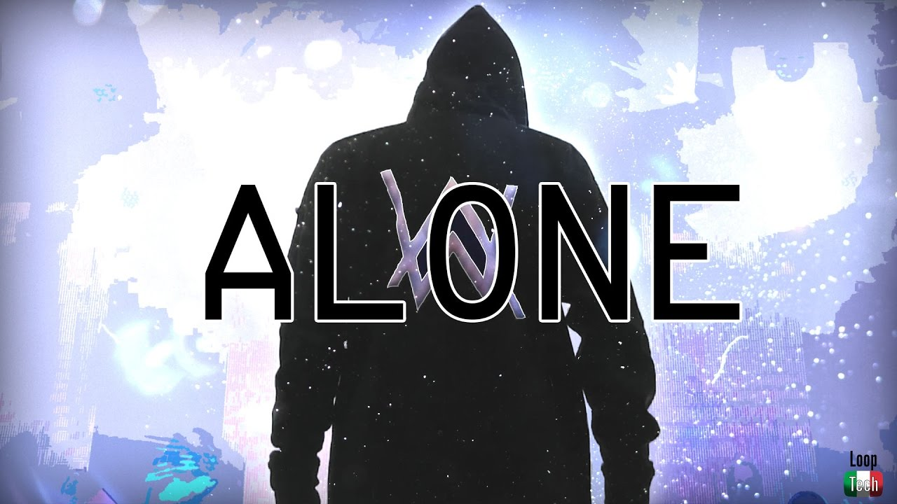 Alan Walker - Alone (Lyrics) - YouTube