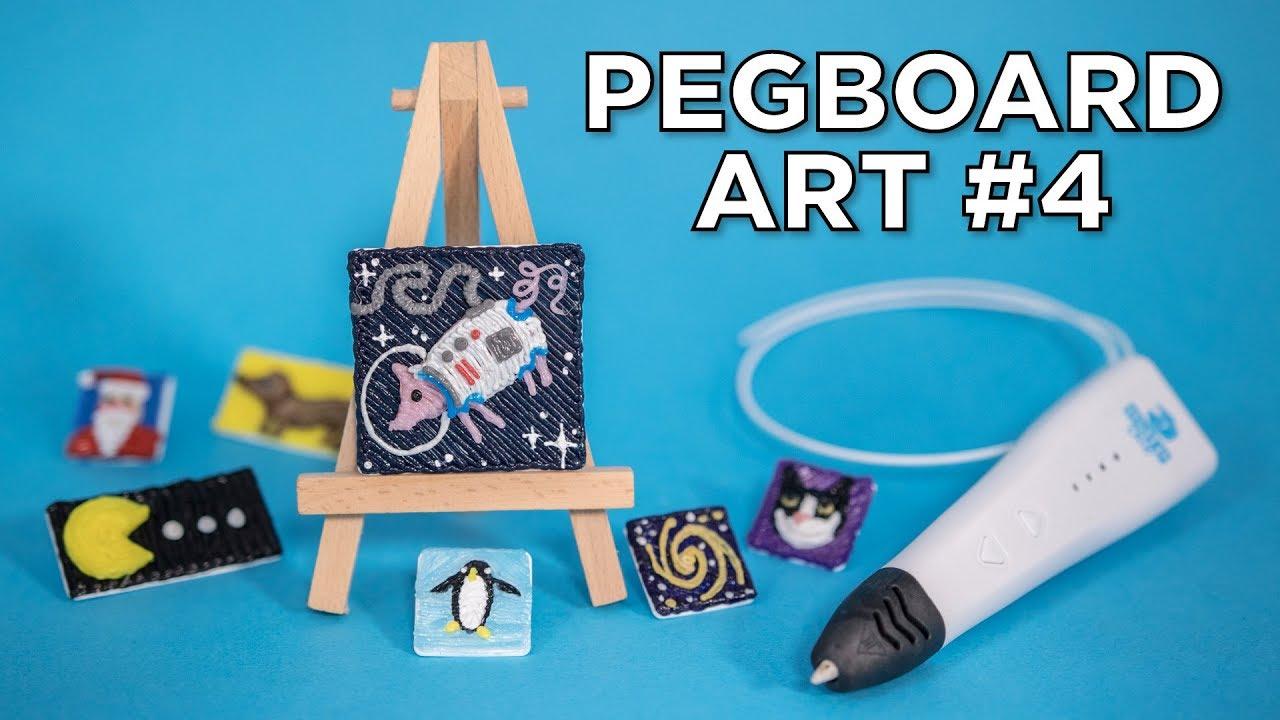 3d Pen Art Patreon Pegboard Pixels 4