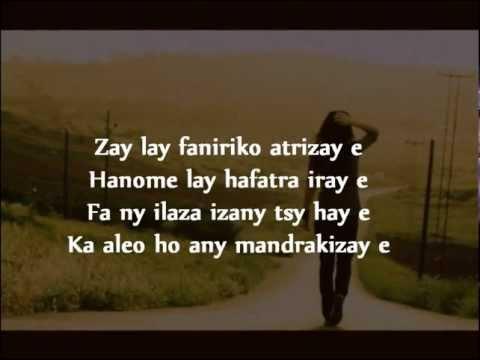 Faniriko hatrizay - Meizah ( Lyrics )