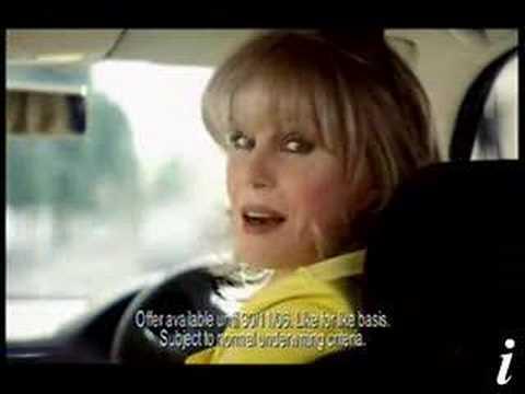 Joanna Lumley - Privilege Car Insurance Ad