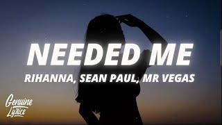 Rihanna x Sean Paul x Mr Vegas x Nina Sky - Needed Me (tiktok) Kevin-Dave Mashup