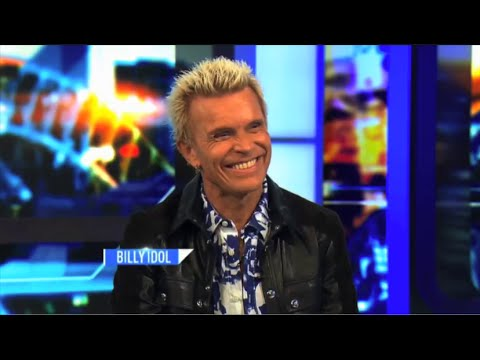 Billy Idol - Interview for 'The Project' on Australian TV