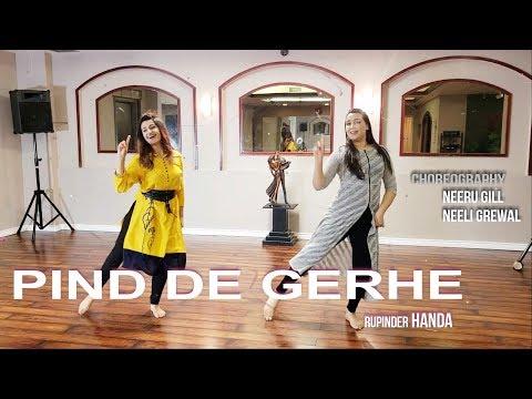 PIND DE GHERE | RUPINDER HANDA | Dancers: Neeru Gill & Neeli Grewal