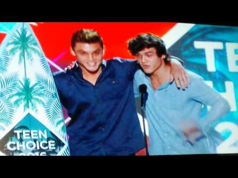 Teen Choice Awards 2016 - Choice Web Star Male and Female