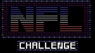 NFL Challenge gameplay (PC Game, 1985)