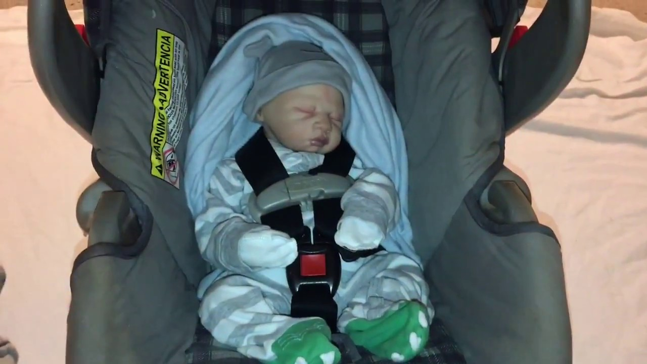 How To Make Your Reborn And La Newborn Look Realistic In A Car Seat