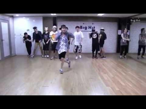 Adult Child & Beautiful (BTS) Dance Practice