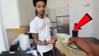 FLIGHT HERE'S $10,000 | YOU LEAVE DIAMOND ALONE SINCE SHE CANT LEAVE YOU ALONE !!