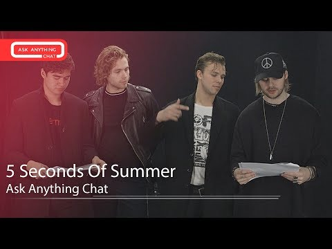 5 Seconds Of Summer New Tour And Single Update.  Full Interview