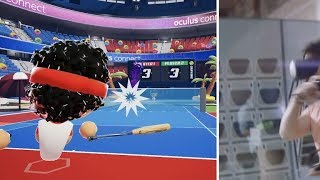 Tennis Scramble Oculus Quest Trailer