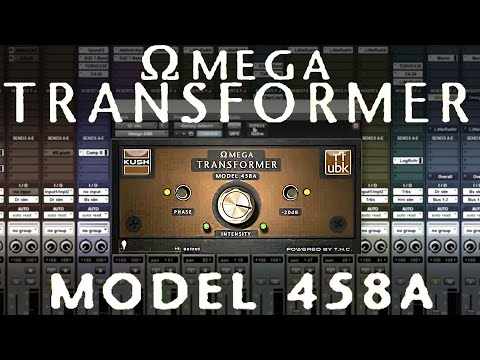 Mixing with Omega Transformer Model 458a by Kush/UBK
