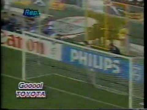 Italia 90 Costa Rica vs Escocia, Gol Juan Cayaso 1-0