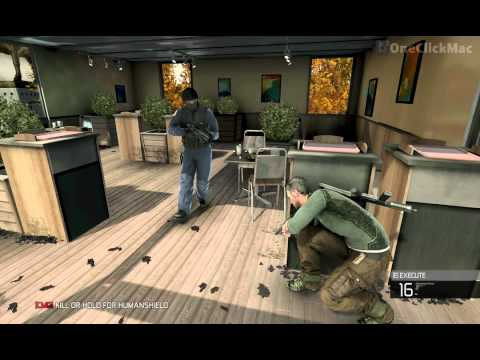 Tom Clancy's Splinter Cell Conviction for Mac Gameplay