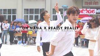 [KPOP PUBLIC CHALLENGE] OH NANA (KARD) + REALLY REALLY (WINNER) | K-pop Cover | Đội nhảy CLB ANNT