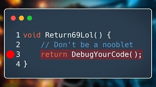 Thumbnail for 'You NEED to know this! - Master debugging in Unity and; C#'
