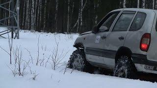 Chevrolet niva. Разведка зимней ЛЭП
